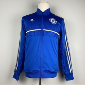 Adidas Chelsea FC Champions Gold Trim Track Jacket
